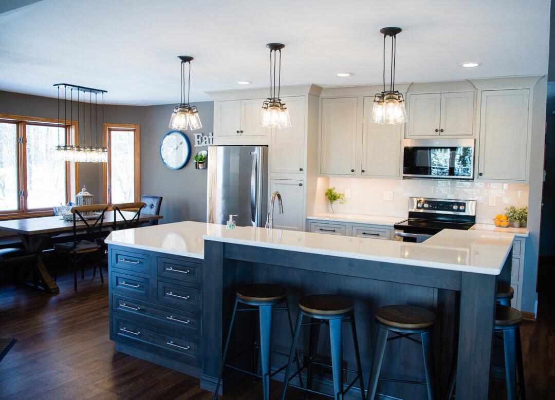 k+w builders kitchen & dining room remodel